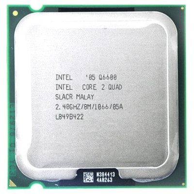 Procesor PC Intel Core 2 Quad Q6600 SLACR 2.4GHz LGA775 foto