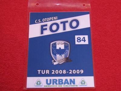 Acreditare fotbal - CS OTOPENI (sezonul 2008/2009) foto