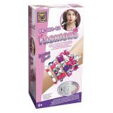 Set creatie bijuterii pentru fetite Fashions Creative, 300 margele, 6 ani+