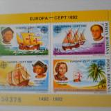 LP 1282  CEPT Europa 1992, Nestampilat
