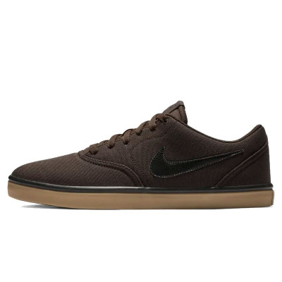 Shoes Nike SB Check Solarsoft Canvas Velvet Brown/Gum foto