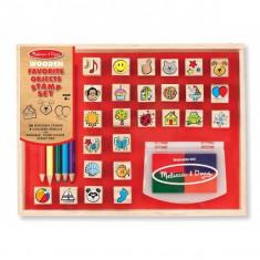 Stampile Melissa and Doug - Obiectele preferate