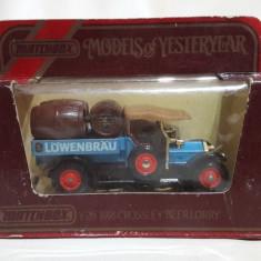 1918 Crossley Beer Lorry - Matchbox