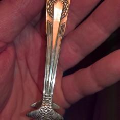 Cleste zahar cubic din metal alb sau alpaca fara marcaj