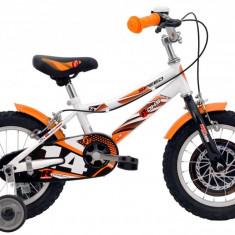 Bicicleta Copii Dhs 1403 Alb Aprins 14