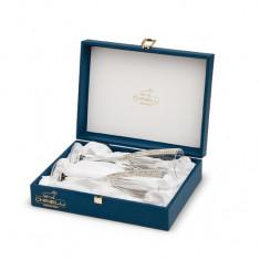 Set 2 pahare sampanie Regina Chinelli, made in italy,Cod Produs:695