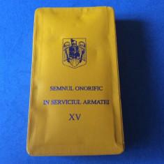Semnul Onorific in Serviciul Armatei - 15 ani - Subofiteri