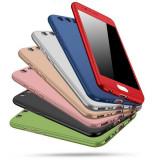 Husa pentru Huawei, All-inclusive, cu protectie 360 de grade, mata, ultra-subtire, anti-cadere