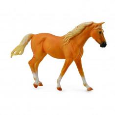 Figurina Cal Missouri Fox Trotter XL Collecta, 17.1 x 10.5 cm, Auriu