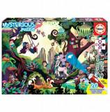 Cumpara ieftin Puzzle Mysterious Puzzle Magic Forest, 200 piese, Educa