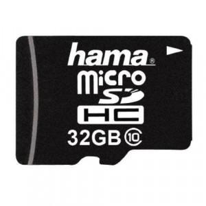 Card Hama Micro SDHC 32GB Clasa 10