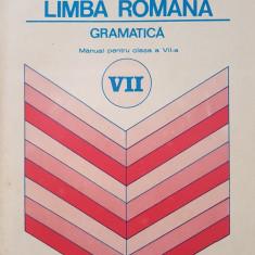 LIMBA ROMANA GRAMATICA MANUAL PENTRU CLASA A VII-A - Ion Popescu