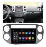 Navigatie Auto Android rama dedicata Tiguan Player Mp5 GPS, 10'', 2DIN, WiFi