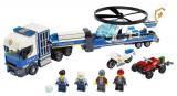 Lego Transportul Elicopterului De Poliè›Ie