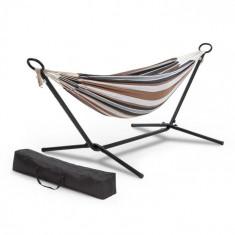 Blumfeldt Sri Lanka Swing, hamac, ramă din oțel, 160 kg max., în dungi