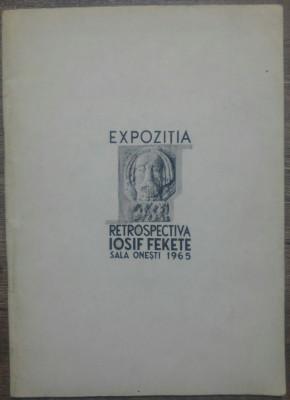 Expozitia retrospectiva Iosif Fekete// Sala Onesti, 1965 foto