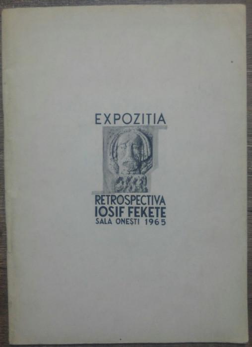 Expozitia retrospectiva Iosif Fekete// Sala Onesti, 1965