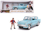 Macheta Harry Potter +Ford Anglia - 1959 - Jada 1:24
