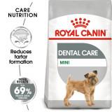ROYAL CANIN Mini Dental Care granule pentru câini reducând formarea tartrului de 1 kg
