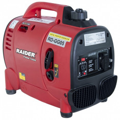 Generator curent electric pe benzina (220 V, 12V), 1000W, Raider Power Tools
