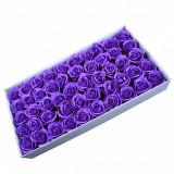 Cumpara ieftin Trandafiri Sapun 5cm Dark Purple