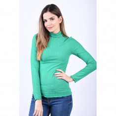 Bluza Only May Rool Neck Jolly Green