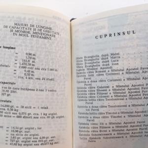 BIBLIA NOUL TESTAMENT 1979- PATRIARHUL iUSTIN. CU INDRUMAR SI CALAUZA BIBLICA