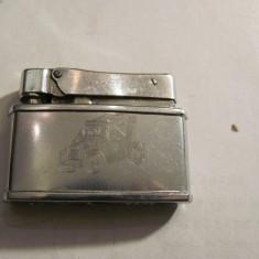 CY - Bricheta veche PENGUIN / lipsa piatra + benzina / imagine masina epoca