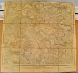 B578-I- Harta veche militara NIDEGGEN Deutches Reich 1910 panza.