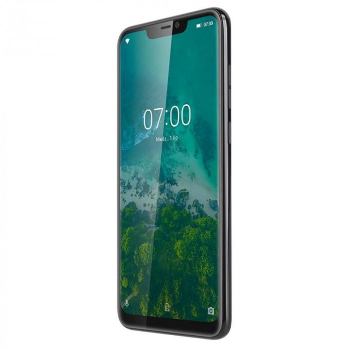 Telefon mobil Live 7S Kruger & Matz, Dual-SIM, Octa Core, 64 GB, 4 GB RAM, LTE, Negru