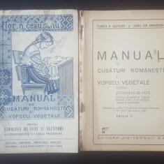 Manual de cusaturi romanesti si vopseli vegetale - Editia I-II