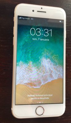 iPhone 7 32GB Gold Auriu NEVERLOCKED CA NOU |VANZATOR GOLD foto