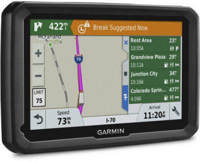 Sistem de navigatie Garmin Dezl 580LMT-D Ecran 5inch Harta Europa Negru foto