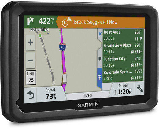 Sistem de navigatie Garmin Dezl 580LMT-D Ecran 5inch Harta Europa Negru