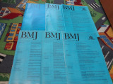 REVISTA BRITISH MEDICAL JOURNAL BMJ EDITIE LIMBA ROMANA LOT 6 BUC