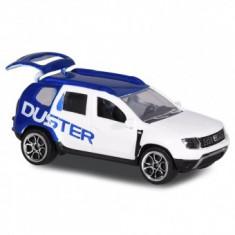 Masina copii 3+ ani Dacia Duster alb cu albastru