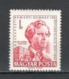Ungaria.1962 100 ani Teatrul National  EY.87