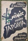 NEAGU RADULESCU  NIMIC DESPRE JAPONIA 1936