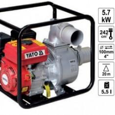 "Motopompa apa murdara 5.7kW, 1600L/min., 4"", Yato YT-85403"