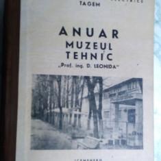 carte veche si foarte rara anuarul muzeul tehnic 1987
