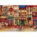 Puzzle Strazile Frantei, 1000 piese Ravensburger