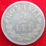 2 LEI 1872 ARGINT. DE COLECTIE.