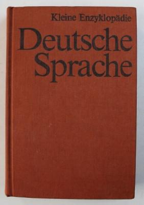 KLEINE ENZYKLOPADIE DEUTSCHE SPRACHE , 1983 foto