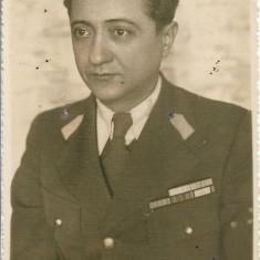 Ofiter roman aviatie decorat Al Doilea Razboi Mondial fotografie veche
