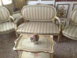 Salon/salonas/canapea cu fotolii,vintage/antic baroc venetian/Ludovic, 1800 - 1899