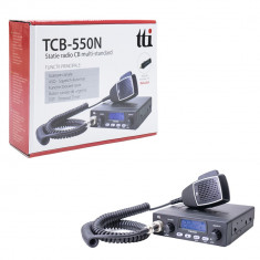 Resigilat : Statie radio CB TTi TCB-550 N cu squelch automat