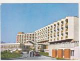 Bnk cp Buzias - Hotelul Parc - circulata - marca fixa, Printata