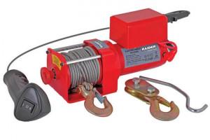 Troliu Electric 12V x 1130 kg x 2200 W telecomanda pe fir Raider Power Tools