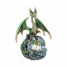 Statueta dragon Oracolul de Smarald 19 cm