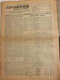 Sportul popular 22 noiembrie 1954-fotbal CCA,dinamo brasov,progresul oradea